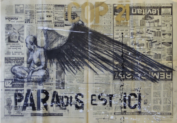 Paradis est ici XLV (2015) | Guy Denning